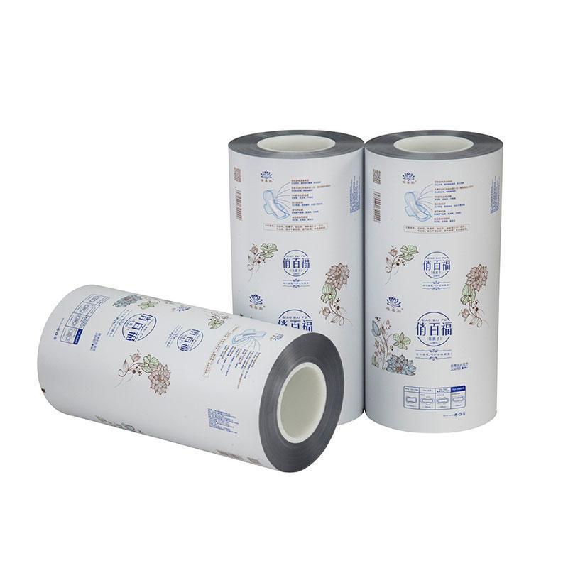 Flexible Plastic Packaging Aluminum Foil Laminated Roll Film