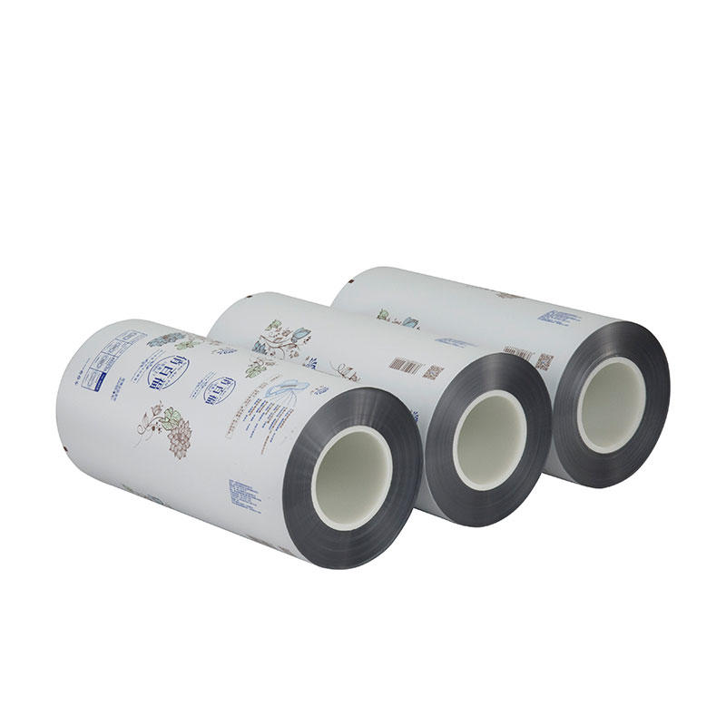 Flexible Plastic Packaging Aluminum Foil Laminated Roll Film