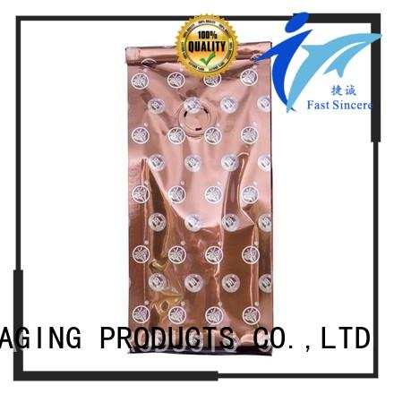FAST SINCERE cost effective recycle coffee bags coffee for coffee powder