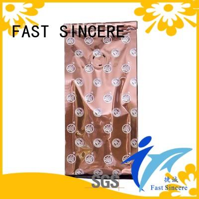 FAST SINCERE flat bottom coffee bags factory price for coffee beans