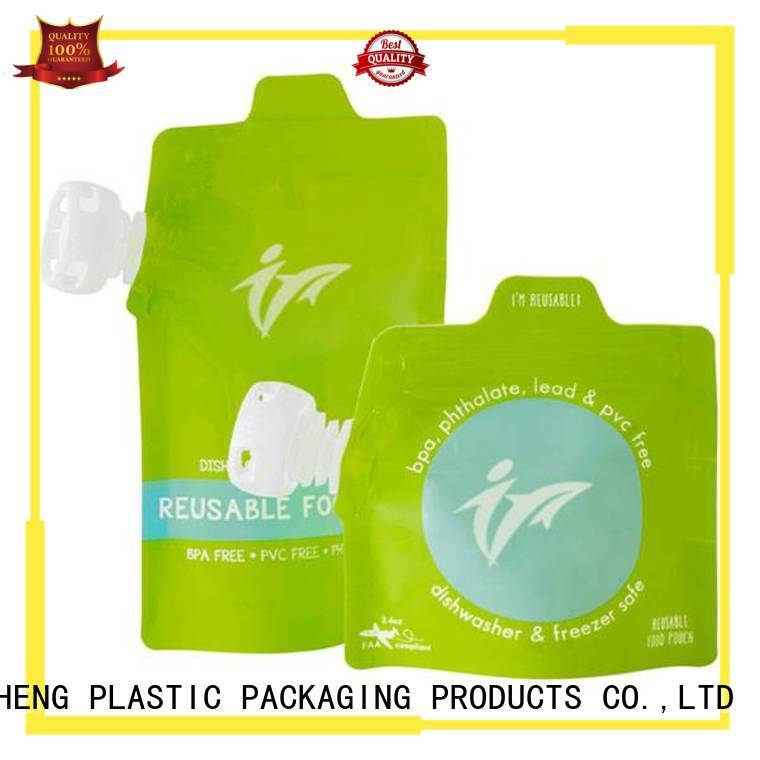 cost-effective stand up liquid pouches from manufacturer for sauces FAST SINCERE