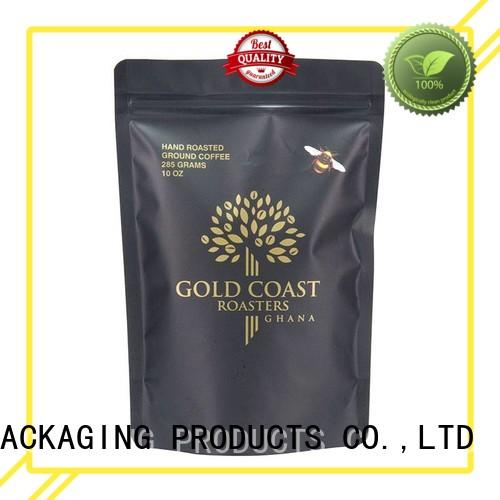 FAST SINCERE widely used custom coffee bags with valve factory price for coffee powder