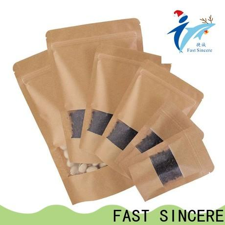 FAST SINCERE Custom doypack stand up pouch company for chocolate