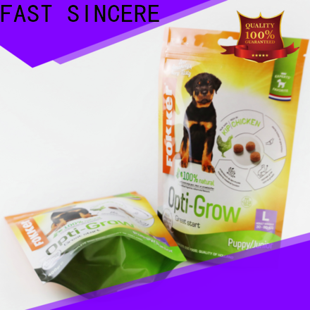 FAST SINCERE bags stand up pouch bags wholesale factory for chocolate