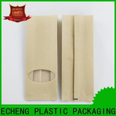 FAST SINCERE window custom kraft bags for seeds