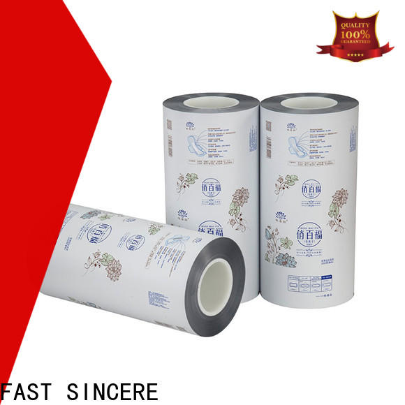 FAST SINCERE no heat laminating film Supply for chocolates