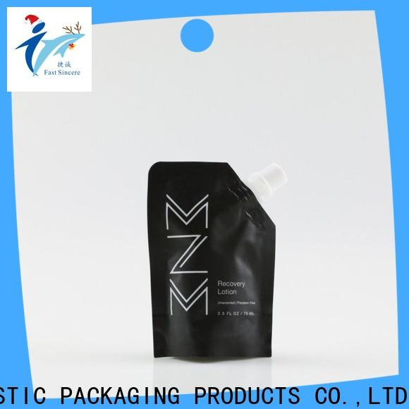 FAST SINCERE Top packing pouch Suppliers for beverages