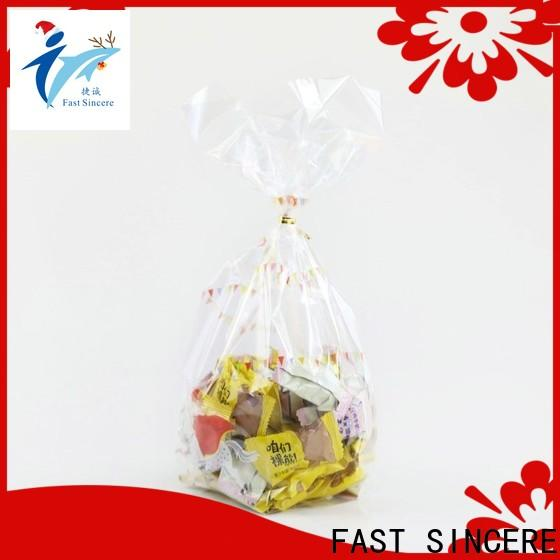 FAST SINCERE High-quality large polythene bags factory for bakery