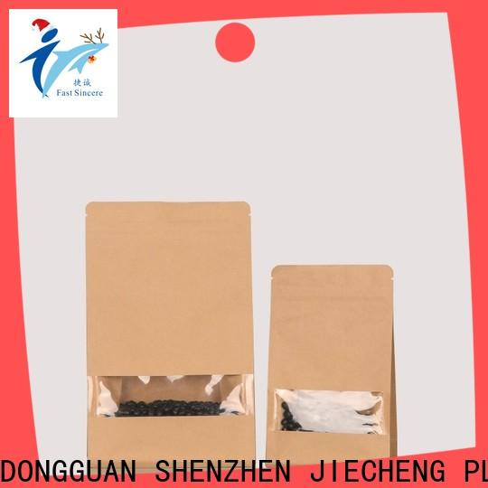 FAST SINCERE New medium paper bags with handles for business for nuts