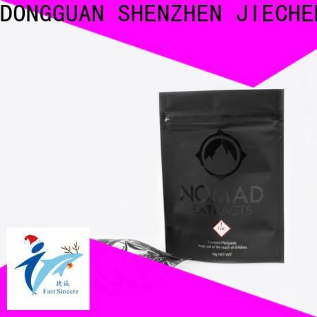 FAST SINCERE window poly stand up pouches factory for superfoods