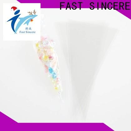 FAST SINCERE poly clear polythene bags manufacturers