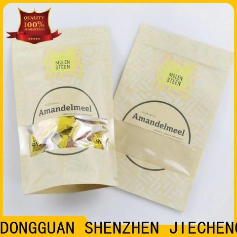 FAST SINCERE Custom dark brown paper bags Supply for candy