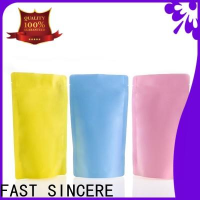 FAST SINCERE Best stand up pouch manufacturers philippines Supply for candy