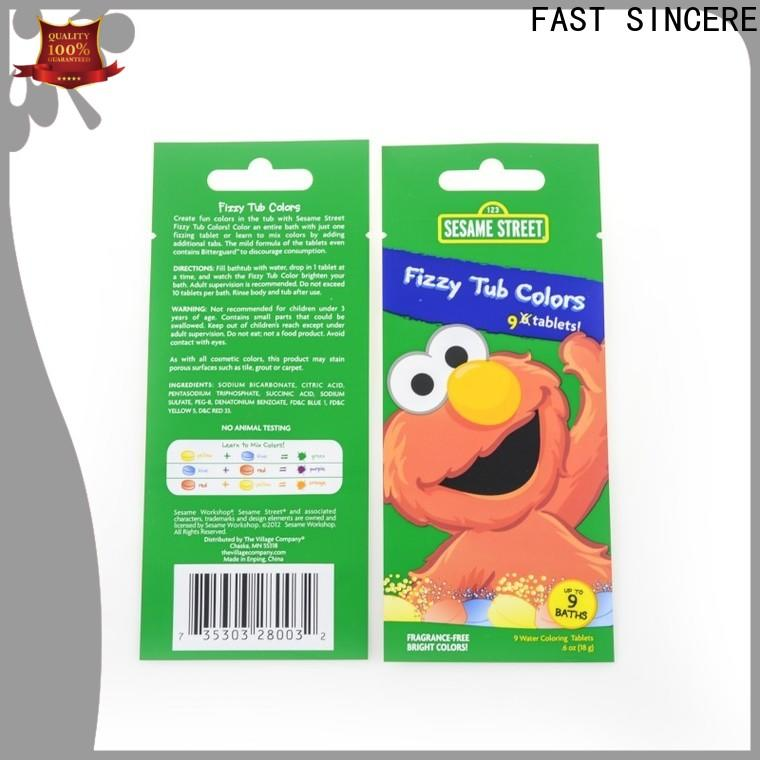 Top stand up zipper pouch packing company for tea
