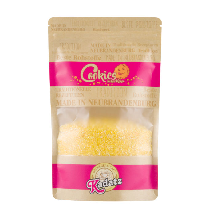 Printed Colored Kraft Paper Bag For Food Packaging