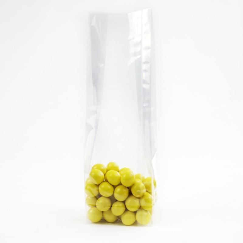 OPP Gusset bag BOPP Square Bottom Cellophane Bag of Plastic Packing