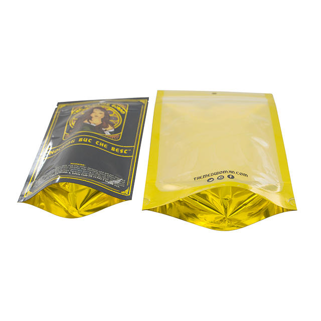 Doypack Stand up Zipper Pouch with Window