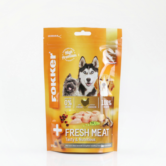 Dog Pet Food Stand Up Packaging Zipper Pouch Bag