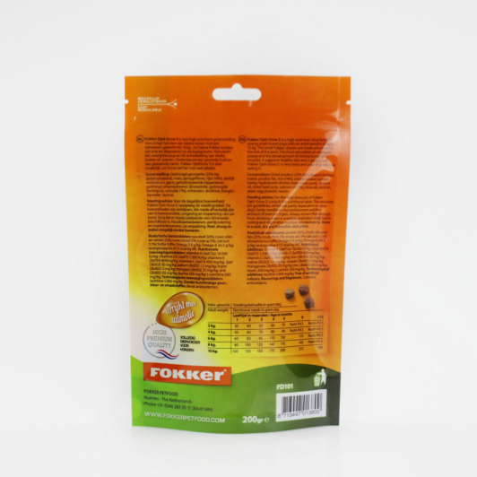 Stand up Pouch Packaging Bag for Dog Food