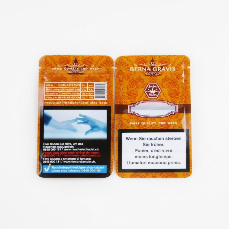 Custom Stand up Pouches for Cannabis Packaging Manufacturer