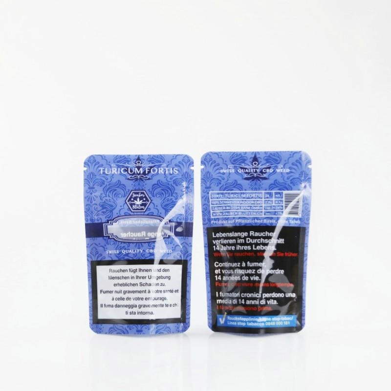 Cannabis Packaging Zipper Bags with Stand up