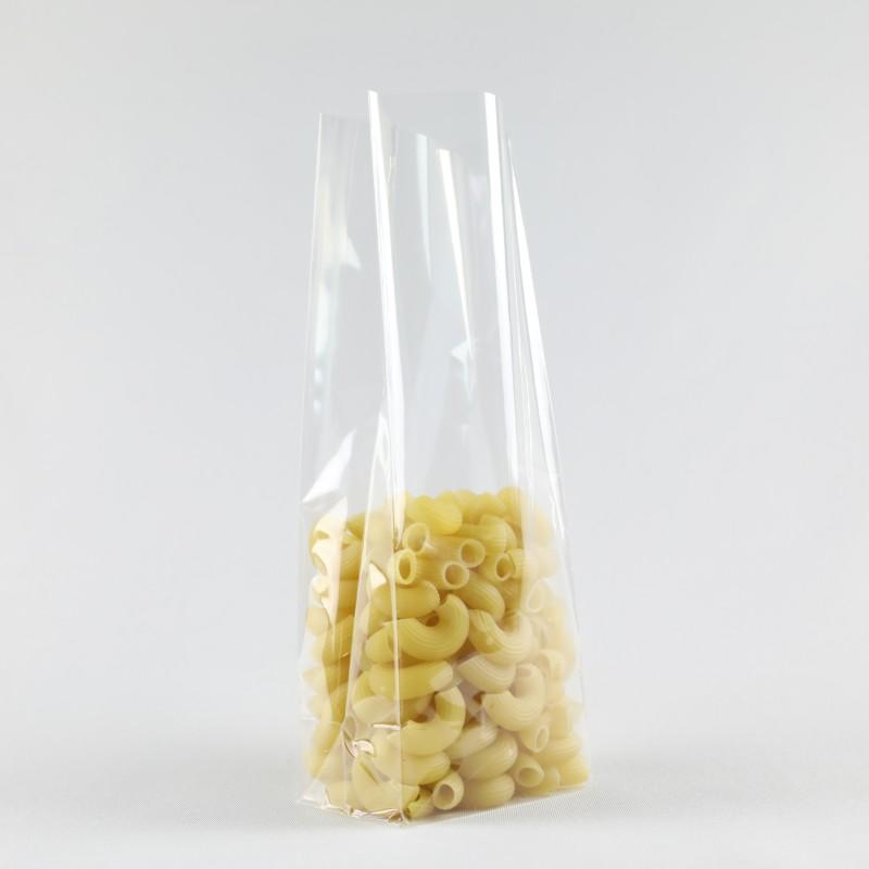Bottom Gusset Bag Plastic Bag for Pasta Single Part