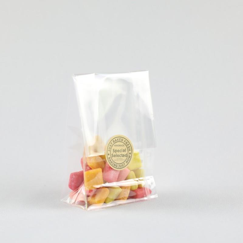Factory Direct Clear Cellophane Gusseted Bags at Wholesale Prices