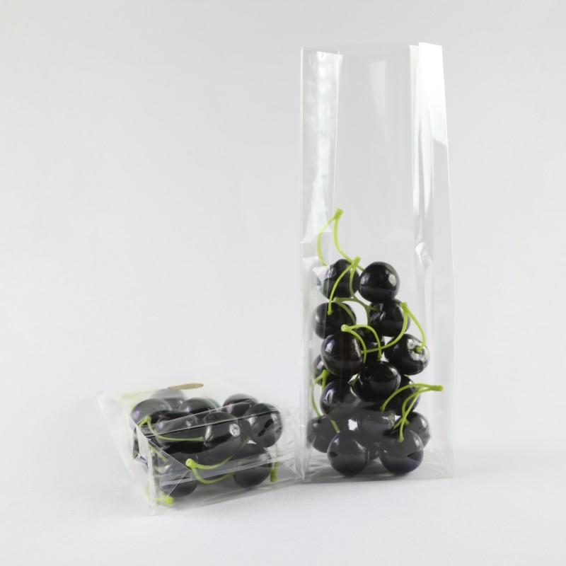 Crystal Clear Bags to Package for Fresh Fruits
