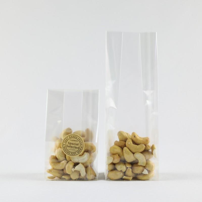 Opp Plastic Bag With Square Bottom Can Pack Nuts