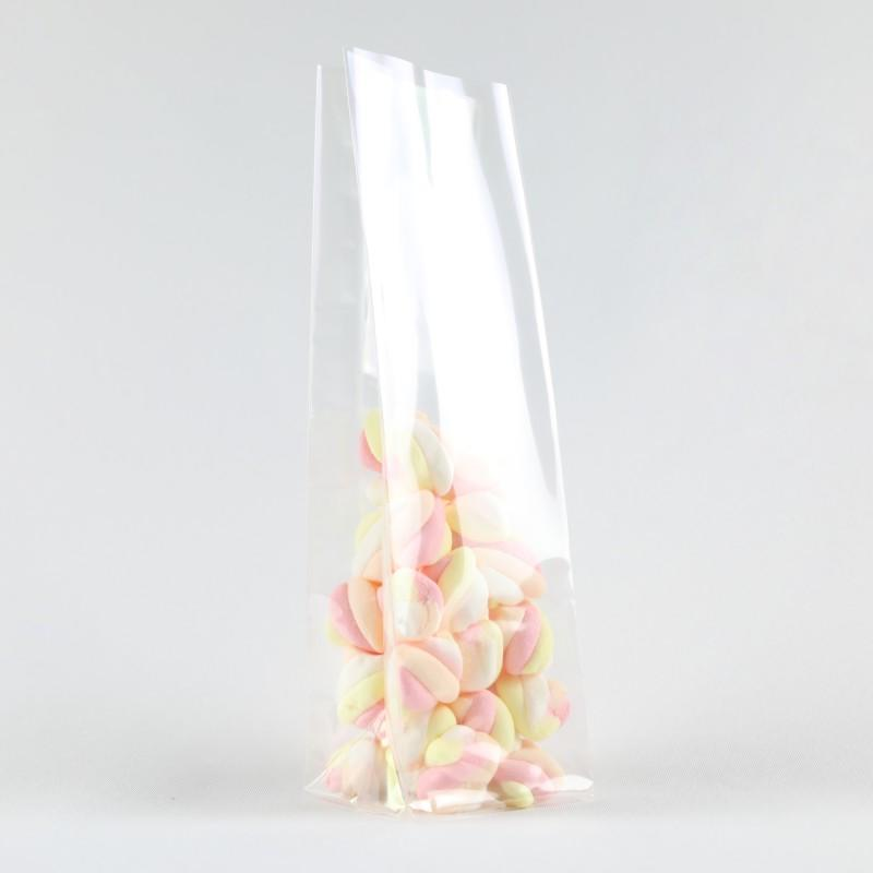 Square Bottom Clear Plastic Bags