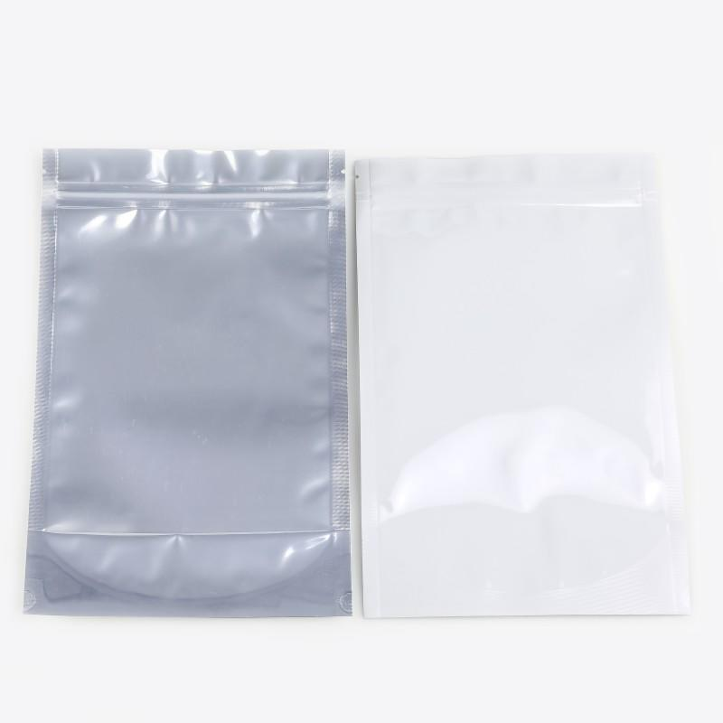 Wholesale High Quality Zipper Bags in White /Black