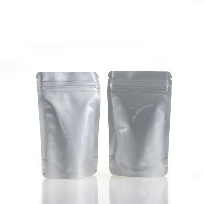 Plastic Aluminum Foil Zipper Packaging Bag