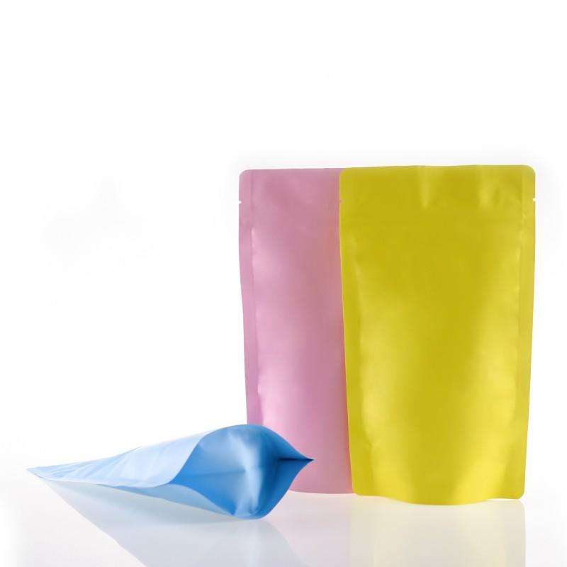 Matte Stand-Up Barrier Pouches with Foil Bag