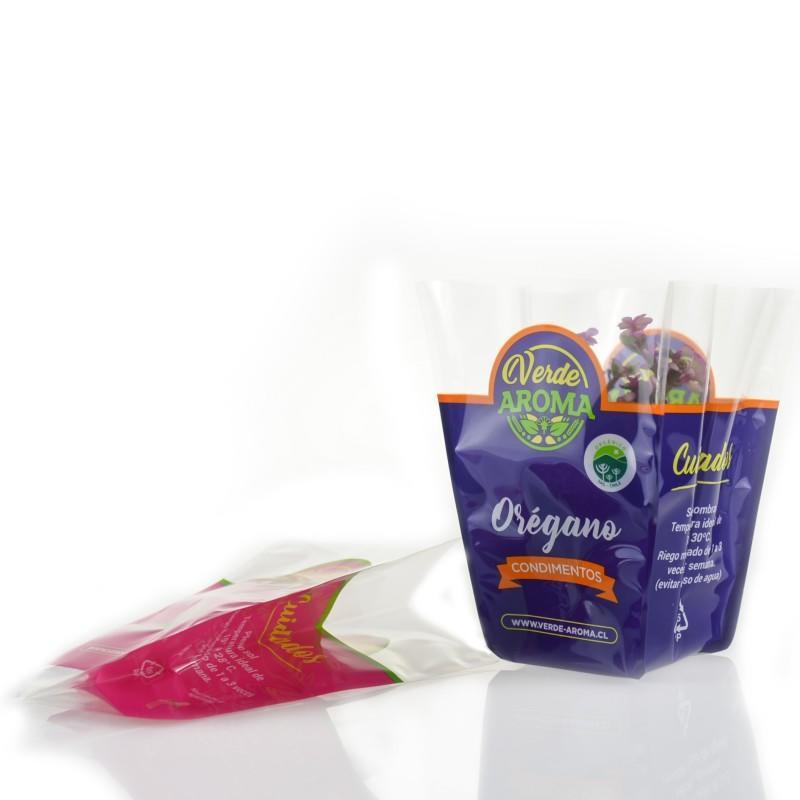 Printing Flower Grow Organic Plastic Nursery Grow Bags
