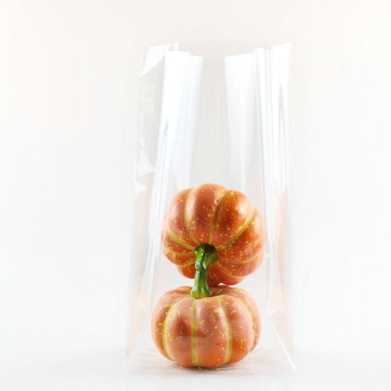 Clear Cellophane gusseted bag for sweets