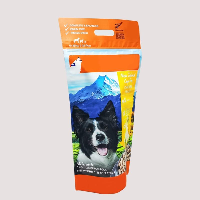 Manufacturer Pet Food Packaging Bag with Handle Hole