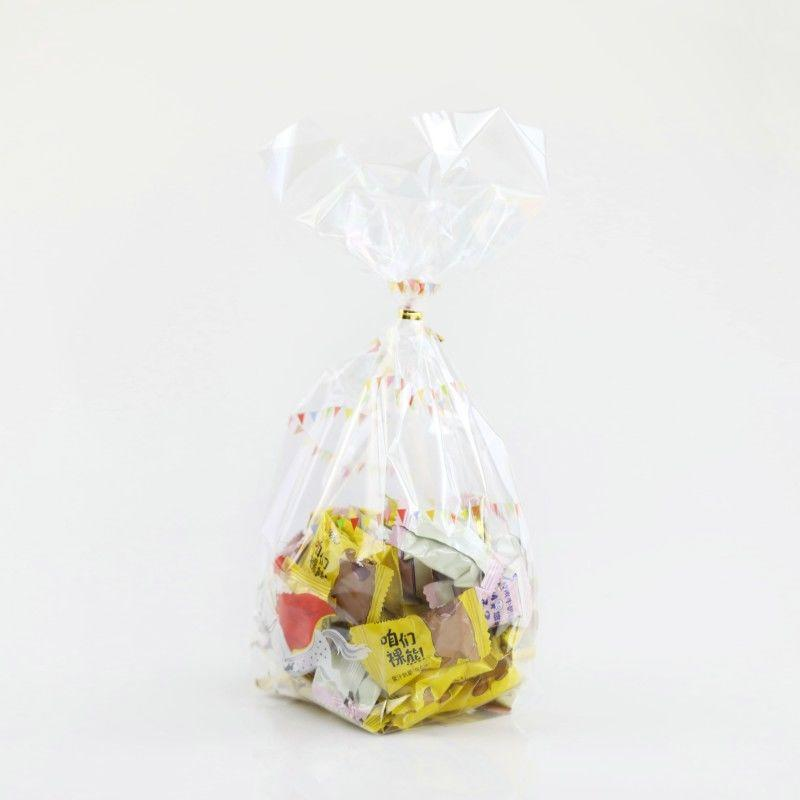 Crystal Clear Standard Gusset Bags for Chocolates and Candy