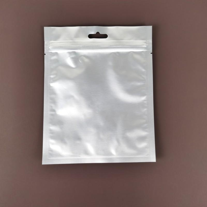 Heat Seal Aluminum Foil Vacuum Bag 3 Sides Sealed Storage Bag