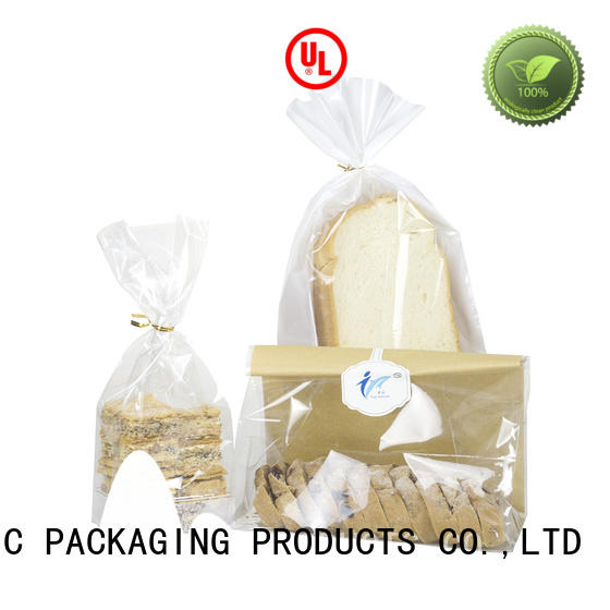 FAST SINCERE heat sealing food packaging plastic bag for wholesale for snacks