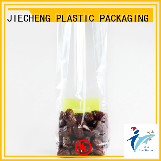 New plastic cello bags cellophane for business for snacks