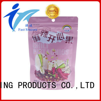 FAST SINCERE widely used stand up pouches for food bulk production for superfoods