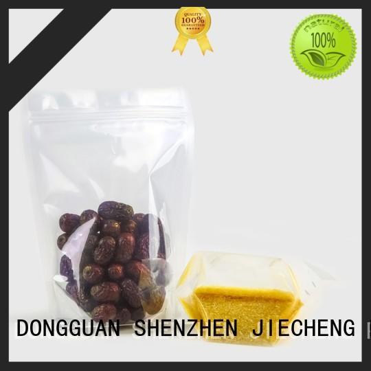 Best liquid packaging pouch zip Supply for cookies