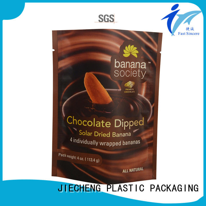 FAST SINCERE zip stand up pouches for food marketing for nuts