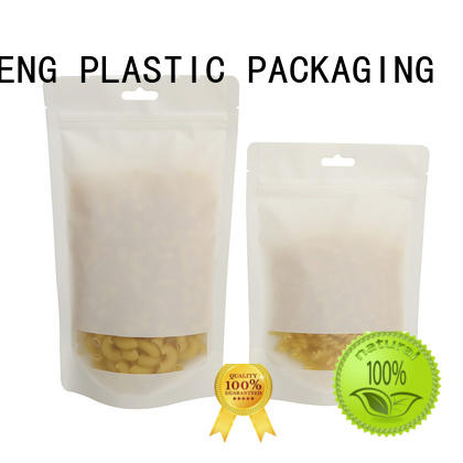 FAST SINCERE kraft stand up pouches for food order now for nuts