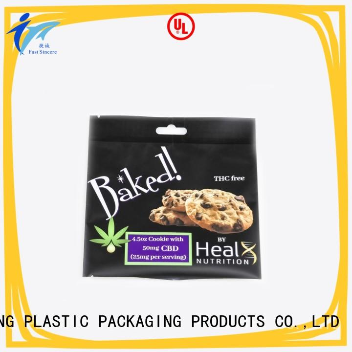FAST SINCERE durable custom printed stand up pouches shop now for tea