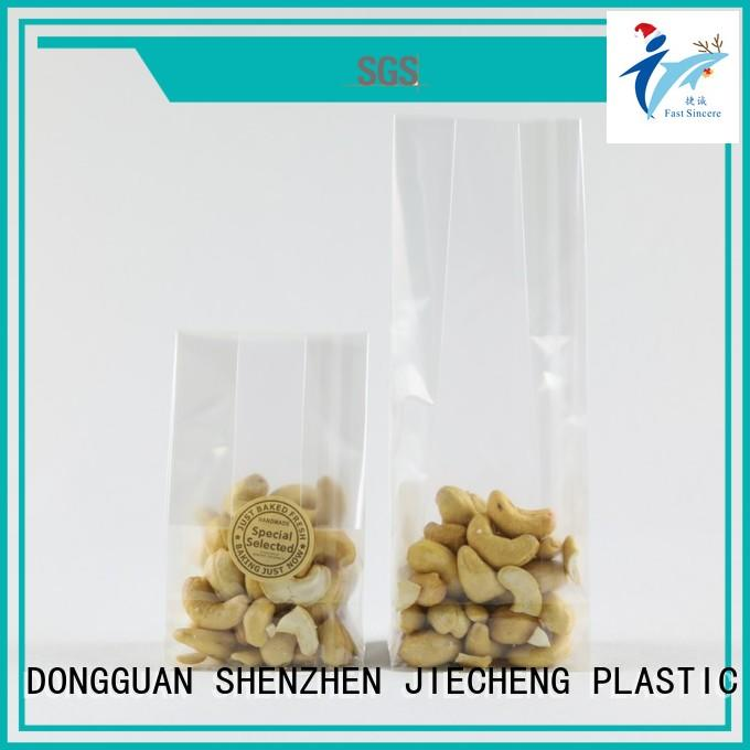 dust free block bottom bag package overseas market for sweets