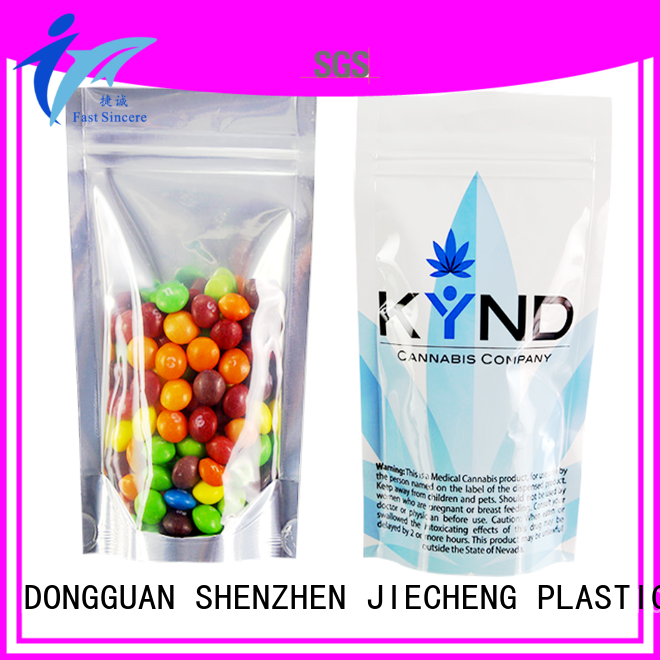 stand flat bottom gusset bags marketing for candy FAST SINCERE