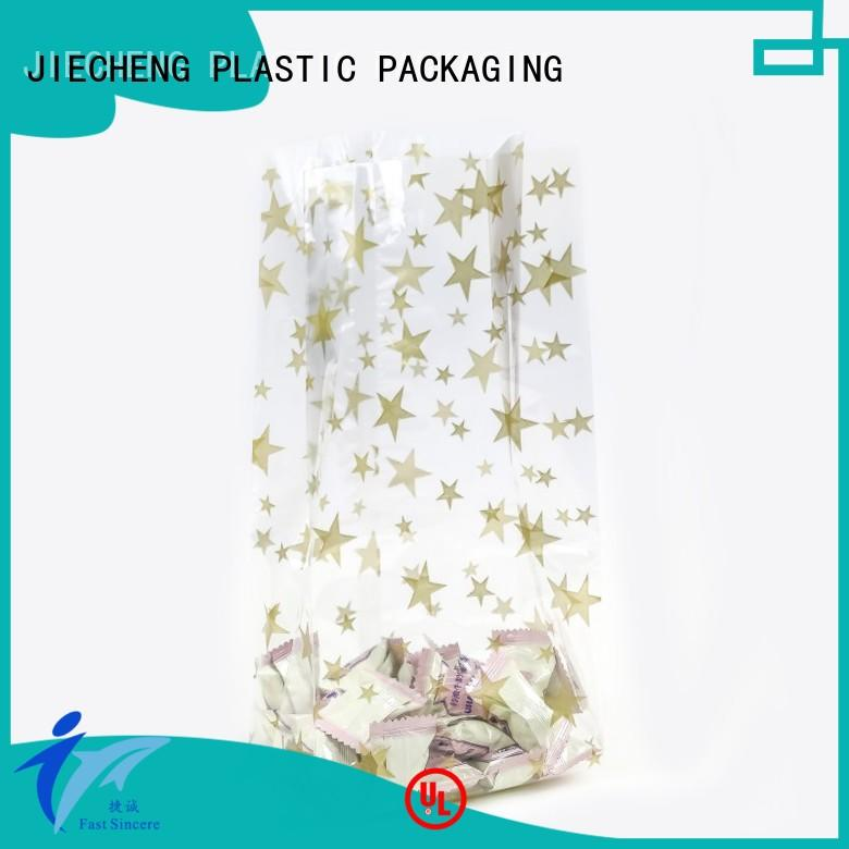 FAST SINCERE printed plastic polythene bags for cookies
