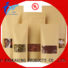 affordable price custom printed kraft paper bags vendor for superfoods FAST SINCERE