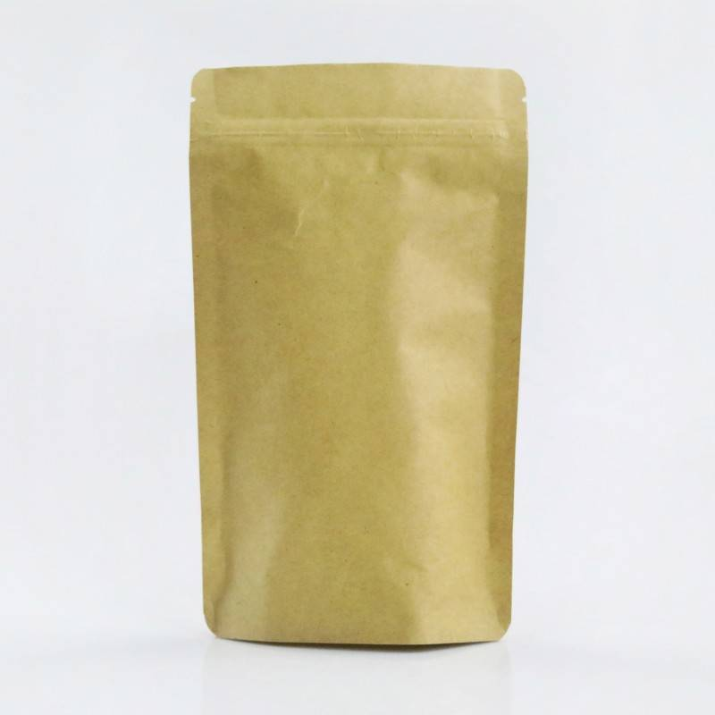 Kraft Paper Stand up Pouches Coffee Bags with Valve Producer